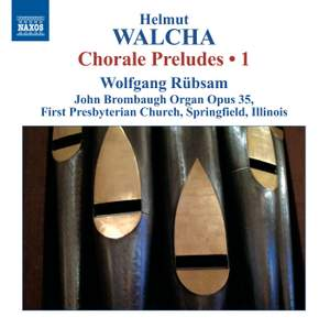 Walcha: Chorale Preludes, Volume 1 – Nos. 1-25 Product Image