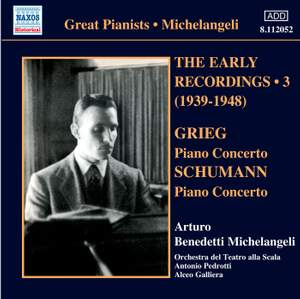 Michelangeli - The Early Recordings Volume 3