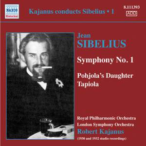 Kajanus Conducts Sibelius, Vol. 1 Product Image