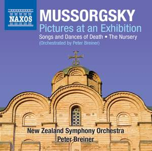 Mussorgsky: Pictures at an Exhibition, Songs & Dances of Death & The Nursery