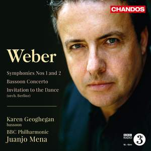 Weber: Symphonies Nos. 1 and 2 & Bassoon Concerto