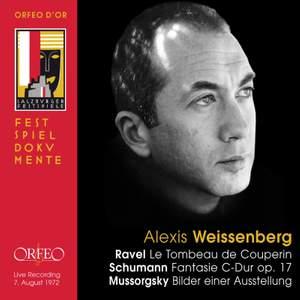 Alexis Weissenberg plays Ravel, Schumann & Mussorgsky