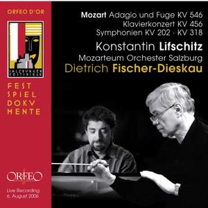 Mozart: Adagio & Fugue K546 & Symphonies K202, 318