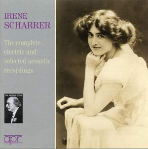 Irene Scharrer: The complete electric & selected acoustic recordings