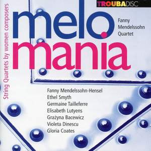melomania – String Quartets by women composers