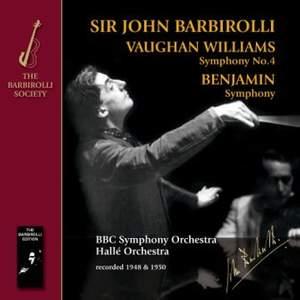 Sir John Barbirolli conducts Vaughan Williams & Benjamin