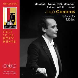 Liederabend: José Carreras Product Image