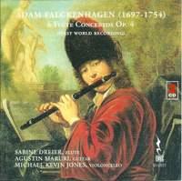 Falckenhagen: Flute Concertos (6), Op. 4