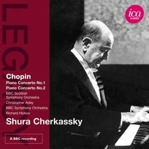 Shura Cherkassky plays Chopin Piano Concertos