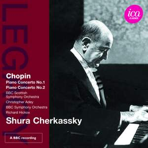 Shura Cherkassky plays Chopin Piano Concertos