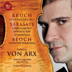Bruch, Sarasate and Bloch: Works for Violin Product Image