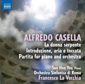 Alfredo Casella: La donna serpente Product Image
