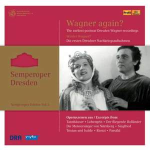 Semperoper Edition Volume 3: Wagner again? (1948-1956) Product Image