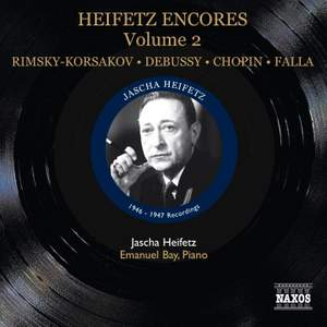 Heifetz Encores Volume 2 Product Image