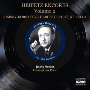 Heifetz Encores Volume 2