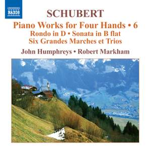 Schubert - Piano Works for Four Hands Volume 6