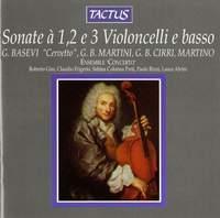 Sonate à 1, 2, e 3 Violoncelli e basso