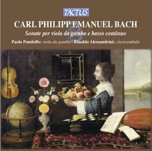 CPE Bach: Sonate per Viola da Gamba e Basso Continuo