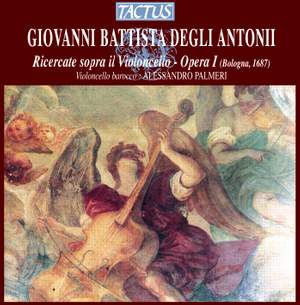 Antoni: Ricercate (12) for solo cello, Op. 1