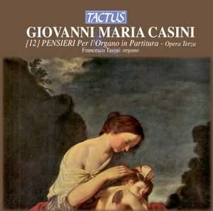 Casini: Pensieri in partitura for organ, Op. 3 Product Image