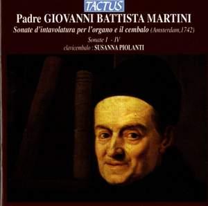 Giovanni Battista Martini: XII Sonate d'intavolatura per l'organo e il cembalo, Sonate I-IV Product Image