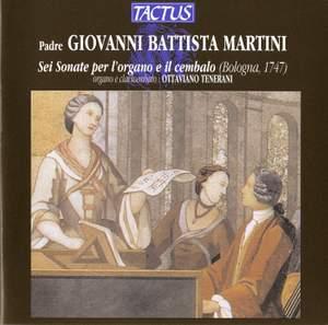 Martini: Sei Sonate per l'organo e il cembalo