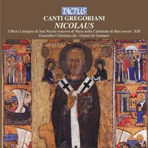 Canti Gregoriani Nicolaus Product Image