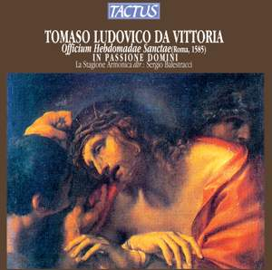 Victoria: Officium Hebdomadae Sanctae (Office for Holy Week)