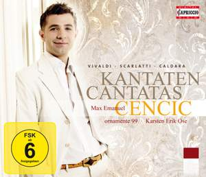 Max Emanuel Cencic sings Cantatas by Vivaldi, Scarlatti and Caldara