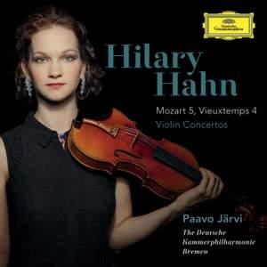 Mozart & Vieuxtemps: Violin Concertos Product Image
