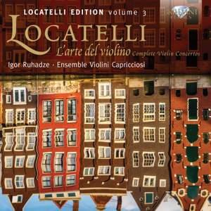 Locatelli Edition Volume 3: L'arte del violin