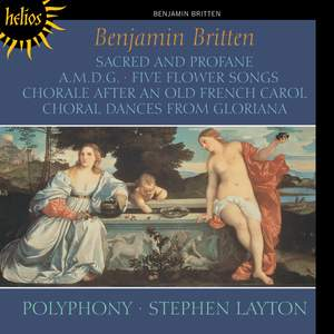 Britten: Sacred and Profane Product Image