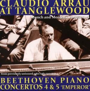 Arrau in Boston: Beethoven Piano Concertos Nos. 4 & 5