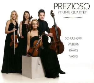 Prezioso String Quartet: Five Pieces for String Quartet