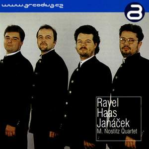 M. Nostitz Quartet plays Ravel, Haas & Janacek