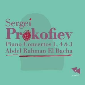 Prokofiev: Piano Concertos Nos. 1, 4 & 3 Product Image