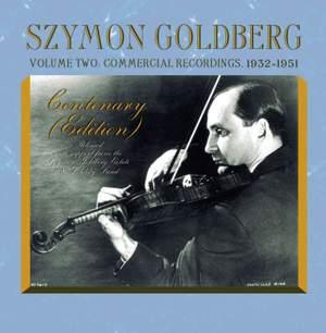 Szymon Goldberg Volume Two