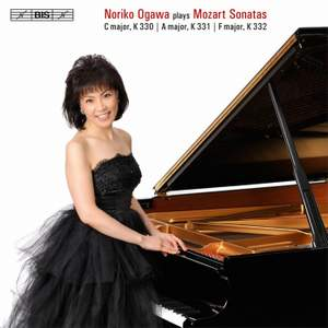 Noriko Ogawa plays Mozart Piano Sonatas Nos. 10-12 Product Image
