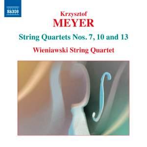 Meyer: String Quartets Volume 3