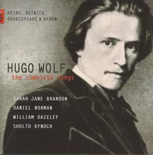 Hugo Wolf: The Complete Songs Volume 5