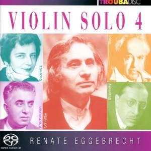Violin Solo, Vol. 4 Product Image