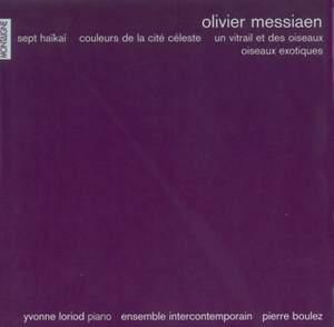Messiaen: Sept Haïkaï and other works