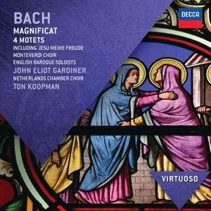 JS Bach: Magnificat & 4 Motets Product Image
