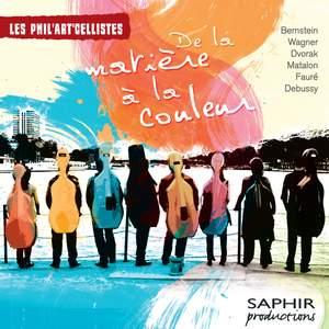 Les Phil'art'cellistes - De la matière à la couleur