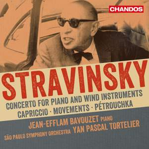 Stravinsky: Works for piano and orchestra Product Image