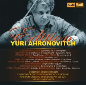 Yuri Ahronovitch Edition Boxed set