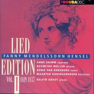 Mendelssohn-Hensel: Lied Edition, Vol. 1