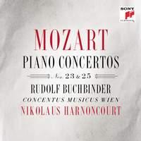 Mozart: Piano Concertos Nos. 23 & 25