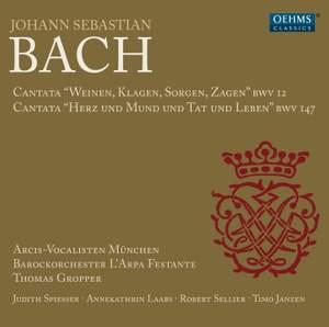 JS Bach: Cantatas, BWV 12 & 147 Product Image