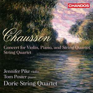 Chausson: Concert in D major for violin, piano, and string quartet